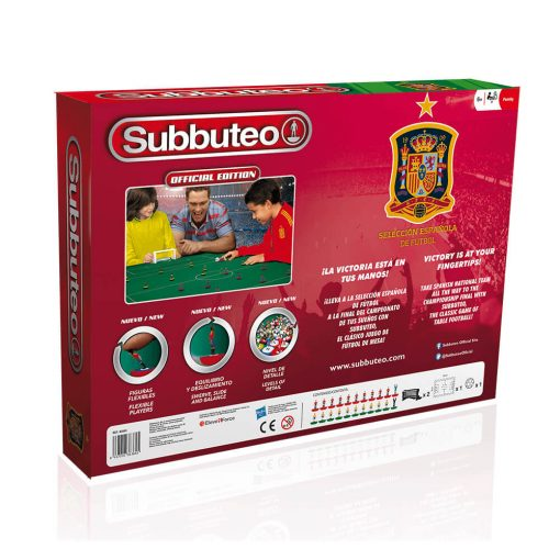 Spain National Football Team Subbuteo Playset (back box)